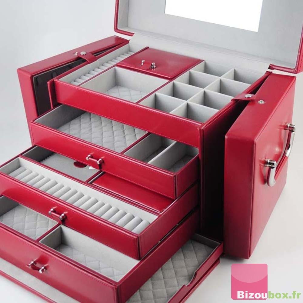 boite a bijoux rouge visuel 9. Black Bedroom Furniture Sets. Home Design Ideas