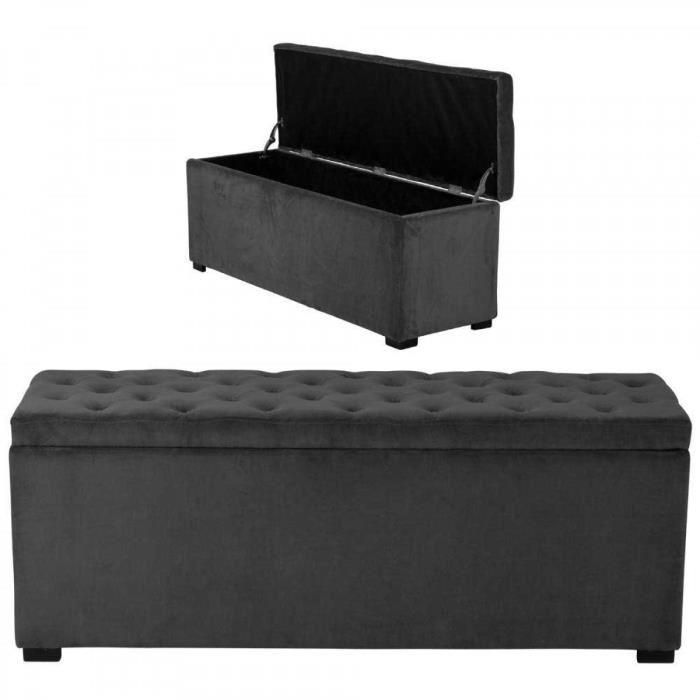 Banc de lit coffre elegant with banc de lit coffre beautiful bout de lit cm cool trendy - La redoute lit coffre ...
