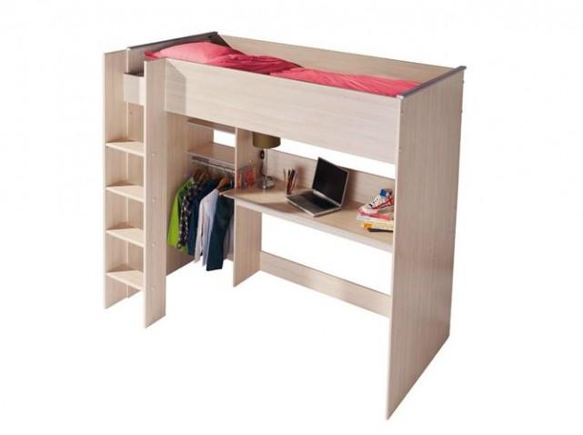 bureau pour fille alinea. Black Bedroom Furniture Sets. Home Design Ideas