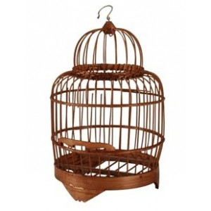 cage oiseaux decorative en bois visuel 8. Black Bedroom Furniture Sets. Home Design Ideas