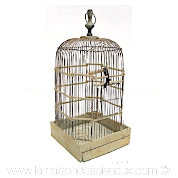 cage oiseaux decorative en bois. Black Bedroom Furniture Sets. Home Design Ideas