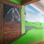 chambre deco cheval