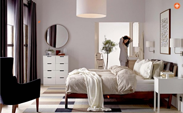 Chambre deco ikea for Decoration chambre couple