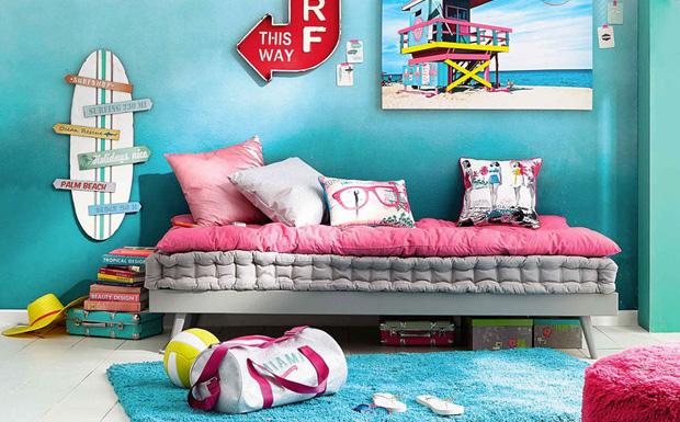 chambre deco surf visuel 2. Black Bedroom Furniture Sets. Home Design Ideas