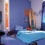 chambre deco surf. Black Bedroom Furniture Sets. Home Design Ideas