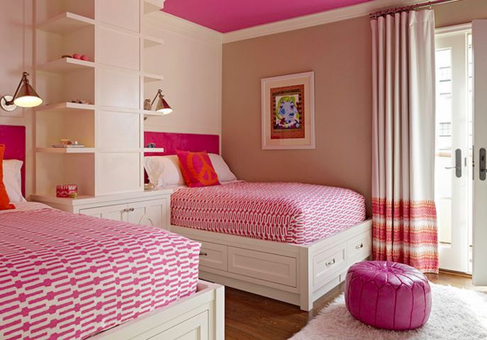 chambre fille deco chambre de bb mixte avec dcoration murale alphabet stylish ide pour chambre. Black Bedroom Furniture Sets. Home Design Ideas