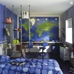Deco chambre ado garcon bleu gris for Chambre garcon bleu et gris