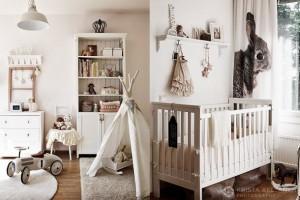 déco chambre bébé beige