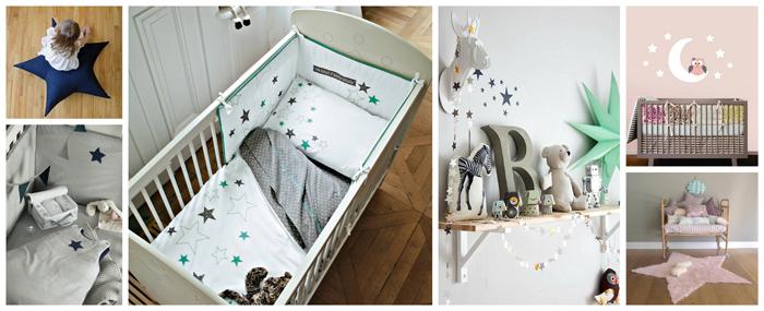 decoration chambre bebe etoile
