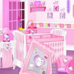 deco chambre bebe fille hello kitty - Hello Kitty Chambre Bebe