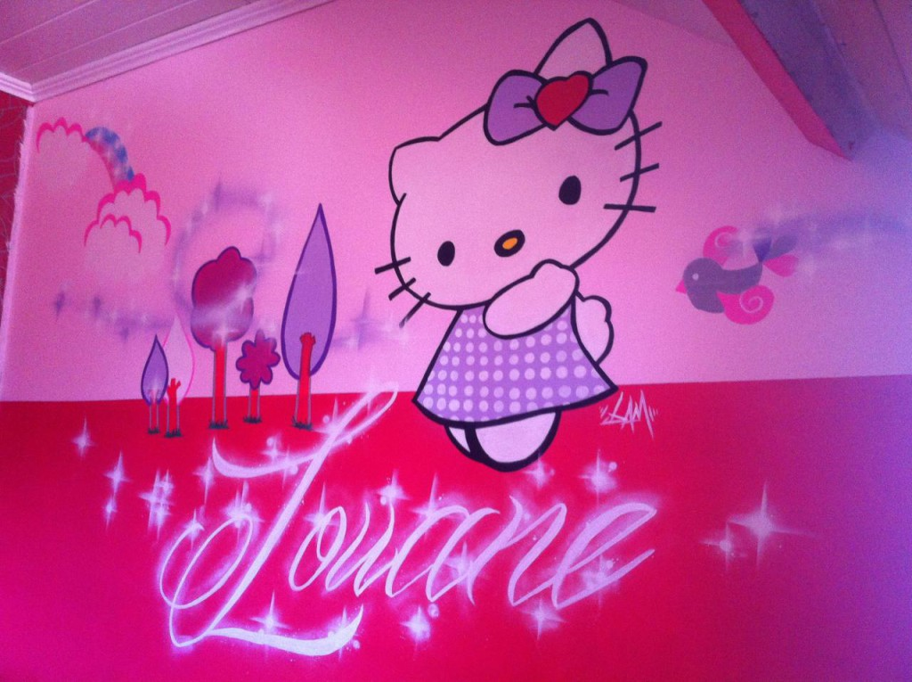 Hello kitty chambre fille - Hello kitty chambre bebe ...
