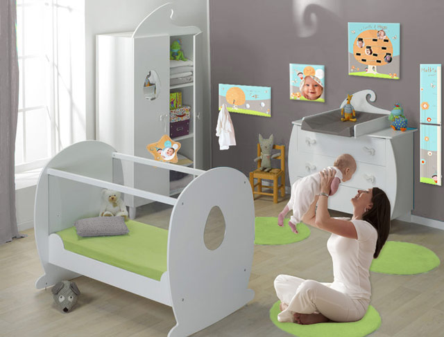 D co chambre lutin for Decoration de chambre de bebe