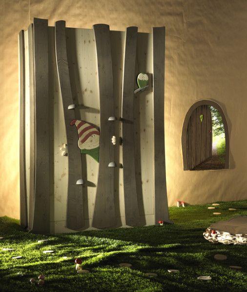 D co chambre lutin for Decoration de porte de chambre