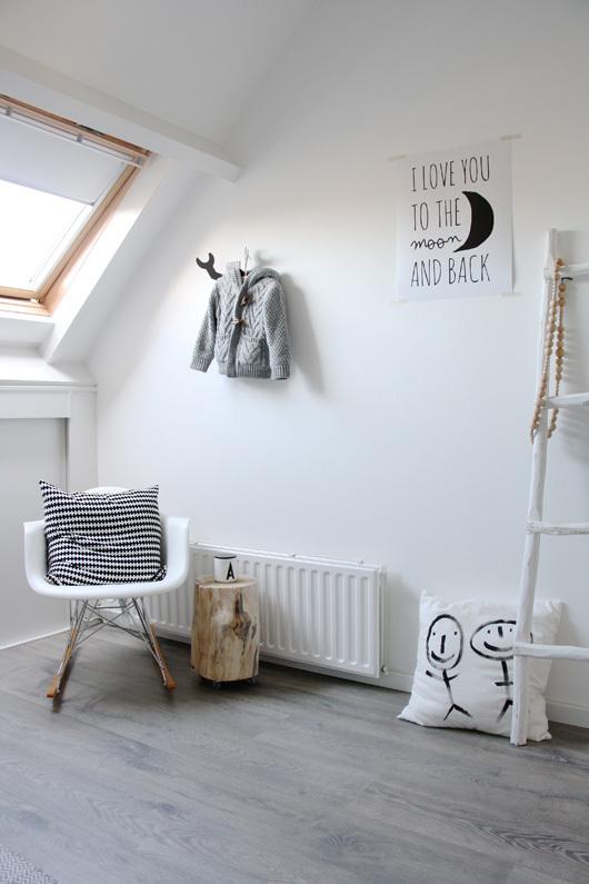 deco chambre bebe scandinave - visuel #5