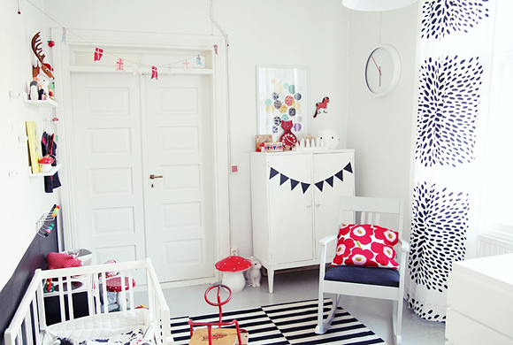deco chambre bebe fille scandinave. Black Bedroom Furniture Sets. Home Design Ideas