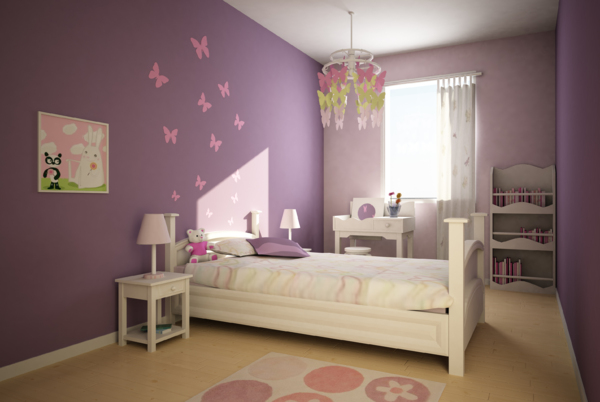 Photo deco chambre fille 8 ans