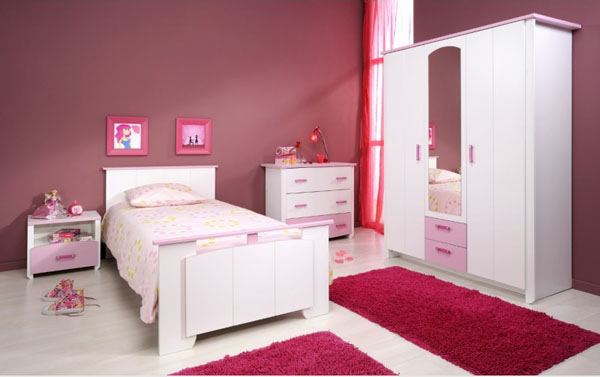 deco chambre fille prune - visuel #8