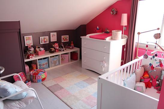 Deco chambre fille prune visuel 1 - Chambre prune ...