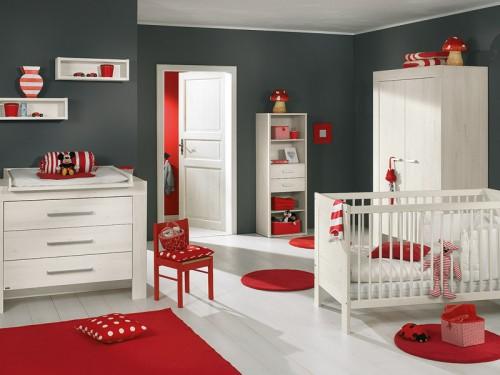 Chambre Rouge Et Blanc Deco – Chaios.com
