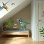 deco chambre garcon dinosaure