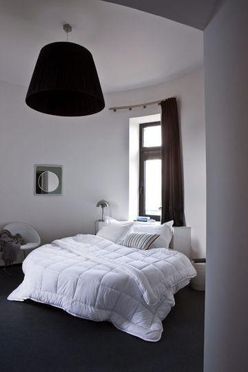 deco chambre gris et blanc - visuel #4