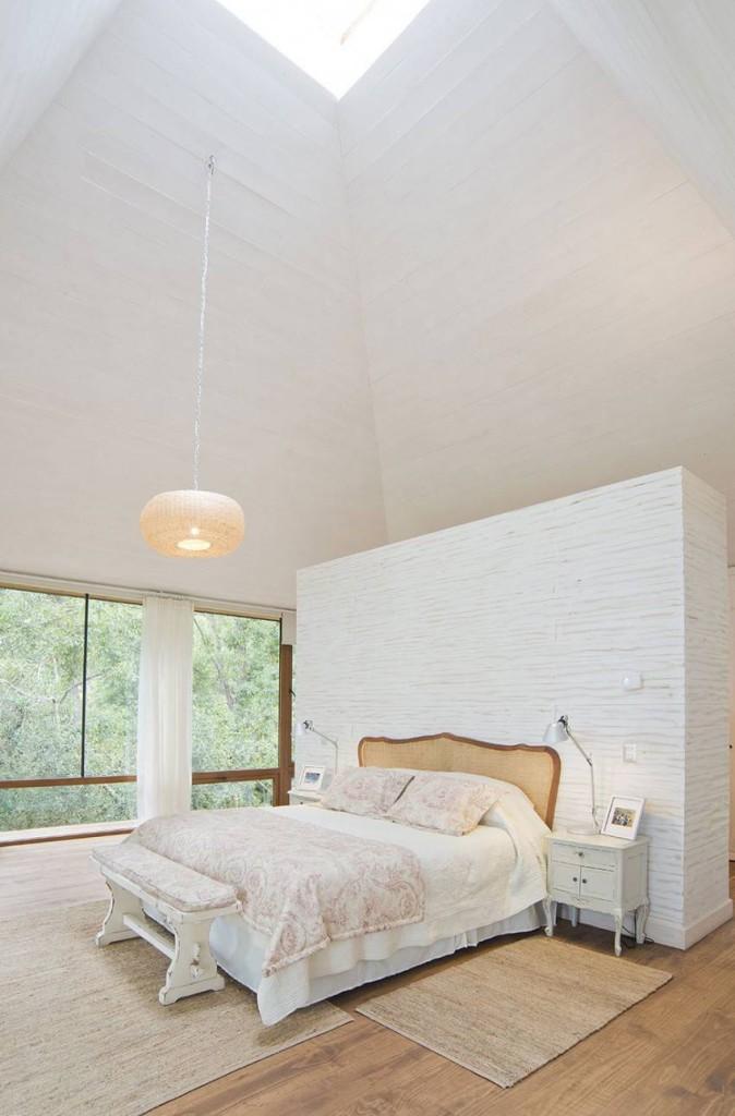 deco chambre plafond haut. Black Bedroom Furniture Sets. Home Design Ideas