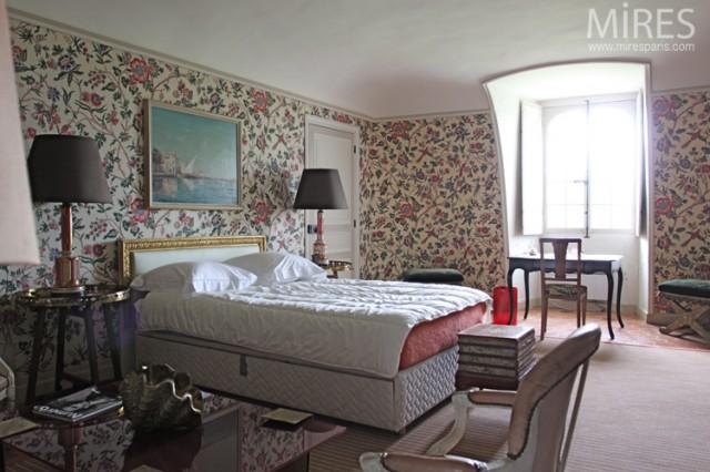 Beautiful Chambre Style Anglais Contemporary - Matkin.info ...