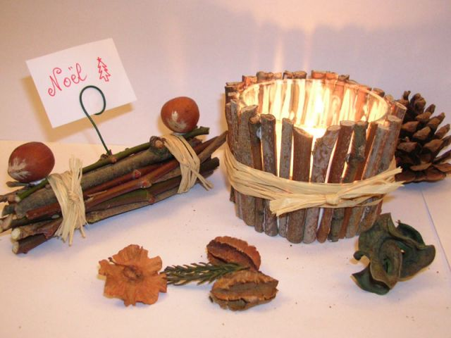Decoration de noel a faire soi meme en bois - Idee de decoration de noel a faire soi meme ...