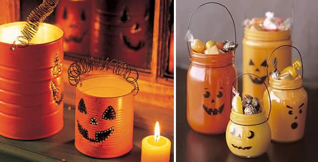 Decoration De Table Pour Halloween Fait Maison : Deco table halloween faire soi meme visuel