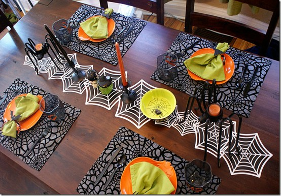deco table halloween faire soi meme. Black Bedroom Furniture Sets. Home Design Ideas
