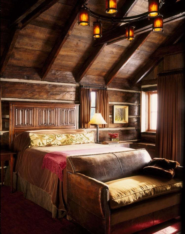 Decoration Chambre A Coucher Champetre  Visuel