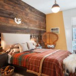 decoration chambre a coucher rustique