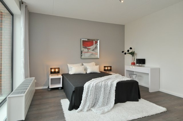 decoration chambre adulte blanche - visuel #6