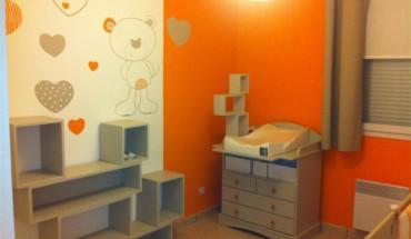 Chambre Bebe Orange Et Marron - Amazing Home Ideas ...