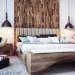 decoration chambre bois