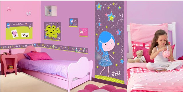 Decoration Chambre Fille Fee : Decoration chambre fille fee visuel