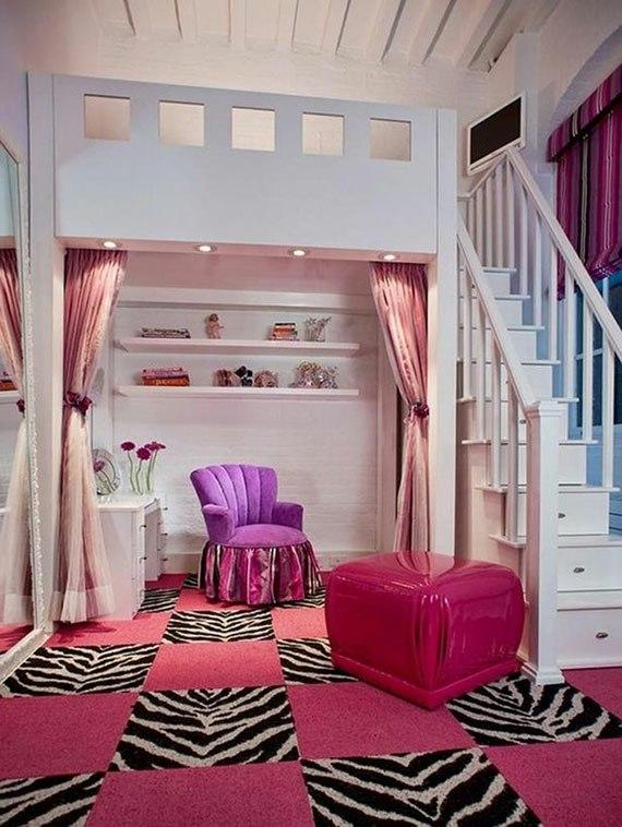 decoration chambre glamour visuel 8. Black Bedroom Furniture Sets. Home Design Ideas