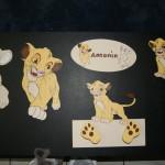 decoration chambre le roi lion