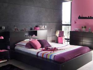 decoration chambre pour jeune femme visuel 6. Black Bedroom Furniture Sets. Home Design Ideas