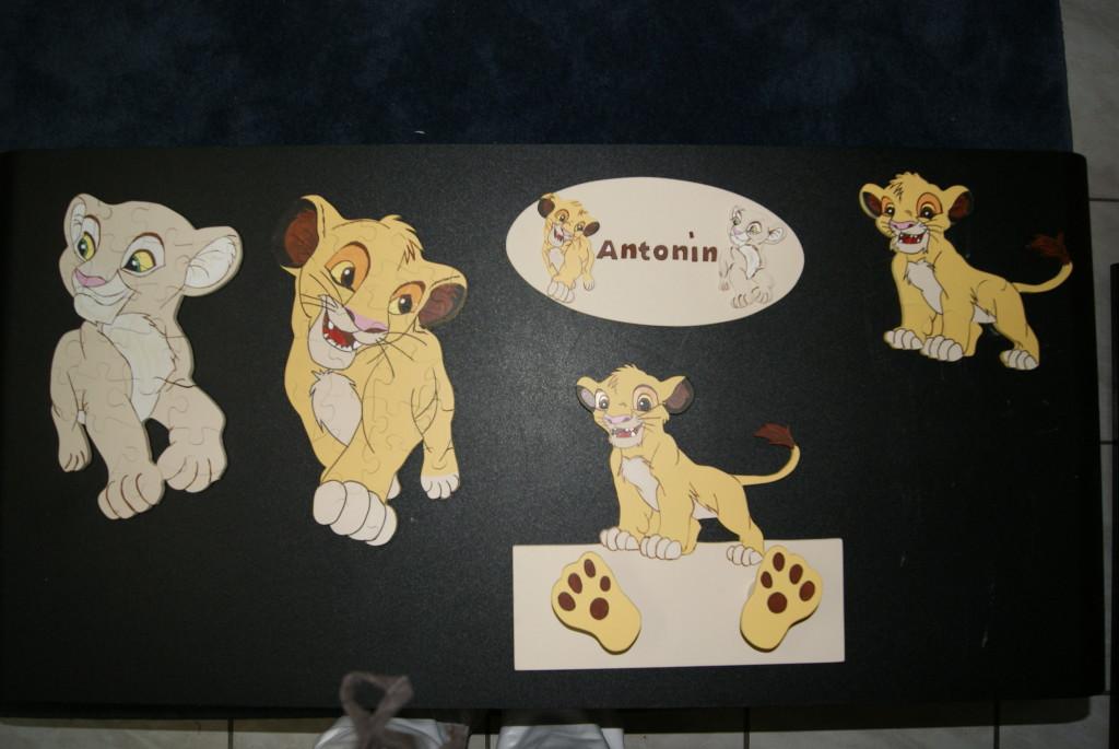 Decoration chambre roi lion visuel 4 for Decoration chambre le roi lion