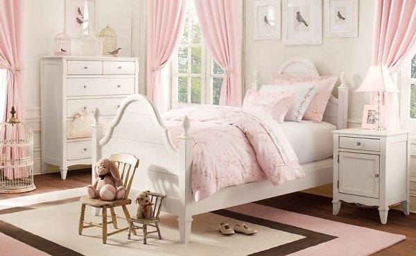 decoration chambre romantique rose visuel 7