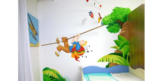 decoration chambre tintin  visuel #9