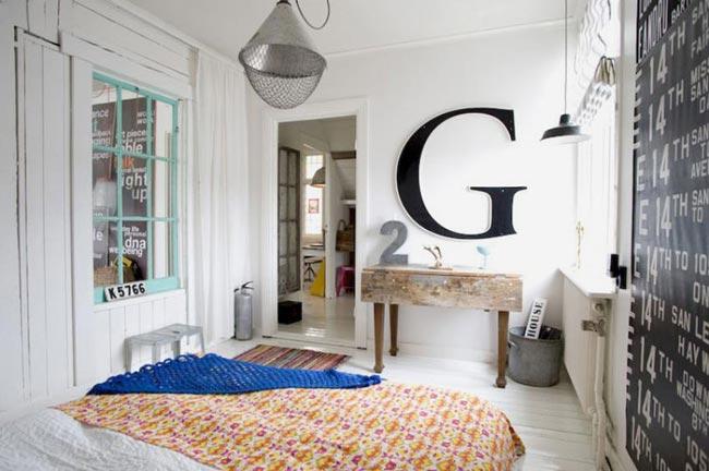 decoration chambre vintage - visuel #1