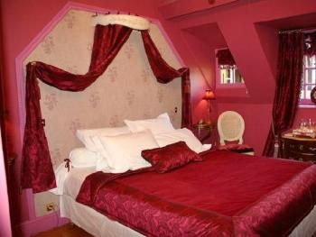 decoration de chambre a coucher rouge - visuel #5
