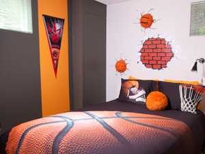 D co chambre basketball - Deco basketball chambre ...