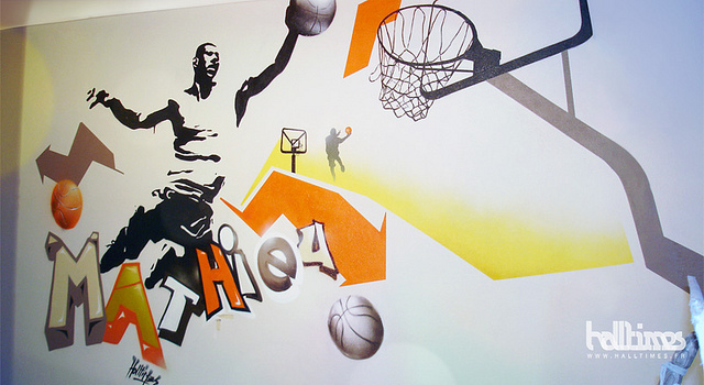 Decoration de chambre basketball visuel 4 - Deco basketball chambre ...