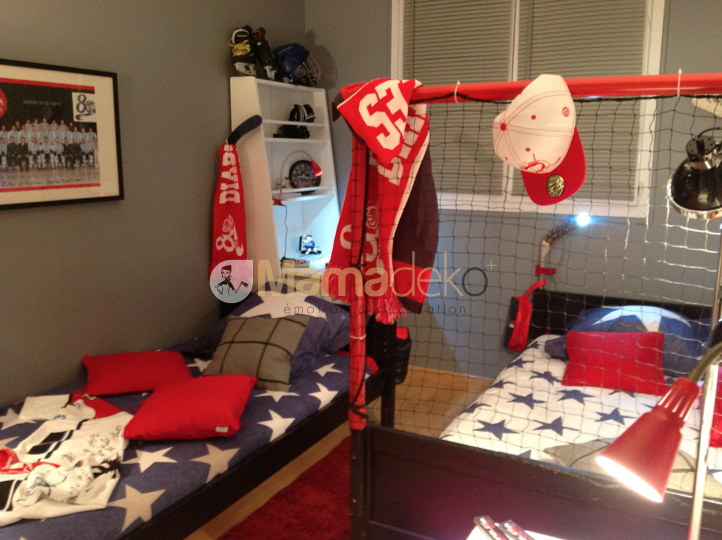 Decoration Chambre Sur Le Hockey