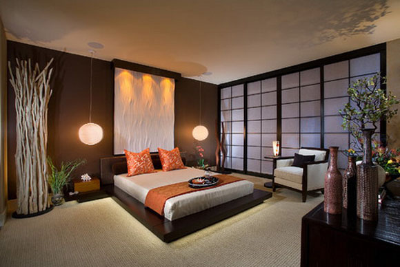 d co chambre style japonais. Black Bedroom Furniture Sets. Home Design Ideas