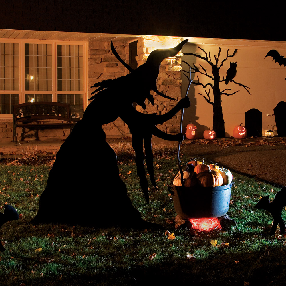 Decoration halloween exterieur a fabriquer visuel 5 for Decoration exterieur halloween