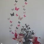 decoration murale chambre fillette